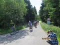 Ždírecký Triangl 2016 - Výjezd z Javorky na silnici